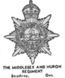 Insignia of the Middlesex and Huron Regiment - Strathroy Ontario