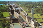 Aerial View of Locks 4, 5, 6, & 7
