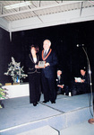 16th annual Sports Wall of Fame Induction Ceremony - Mayor Ted Salci presenting award to Carol Ann Biamonte Figure Skating