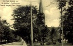 St Clair Avenue and St Andrew's Presbyterian Church Niagara Falls Canada
