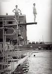 Cyanamid Swimming Pool - high diving board