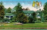 Administration building in Queen Victoria Park Niagara Falls Park Canada