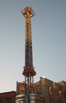 Clifton Hill at Dusk - Piledriver Ride