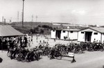 Cyanamid Swimming Pool - bicycle parking area and change rooms