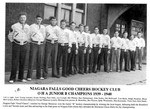 Niagara Falls Sports Wall of Fame - Good Cheers Hockey Club 1939 - 1940