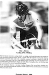 Niagara Falls Sports Wall of Fame - Dan Lefebvre Cycling 1971 - 1990 era