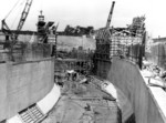 Sir Adam Beck 2 Power Generating Station - construction of enclosed entrance to tunnels