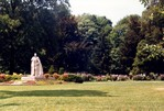 Queen Victoria Park - Statue of King George VI