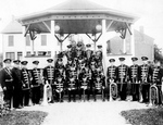Chippawa Community Band in bandshell Cummington Square