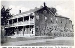 Prospect House, Jack Ward Proprietor, 1951 Main Street Niagara Falls Ontario. The old barracks of 1837