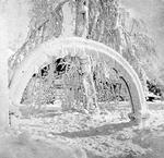Rainbow Arch in Prospect Park - Winter Scene