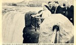King George VI and Queen Elizabeth viewing Niagara Falls - Royal Tour 1939