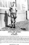 """Niagara Falls Sports Wall of Fame - Orville """"Obs"""" Heximer 1910 - 1988 Ice Hockey"""