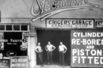 Criger's Garage and Machine Shop - Queen Street and St Lawrence Avenue