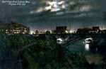 Night scene from [Queen] Victoria Park, Niagara Falls, Ont. [Ontario]