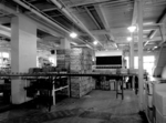 Niagara Dry Beverages - 1730 Ferry Street - interior of the loading area filled with Pepsi-Cola crates