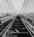 Railway Suspension Bridge Train Tracks