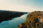 Niagara Gorge and a Long Shot of the Rainbow Bridge