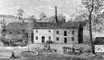 St. David's Spring Mill, Distillery & Brewery - on Ravine Hill (1862)