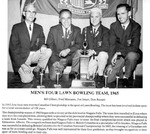 Niagara Falls Sports Wall of Fame - Men's Four Lawn Bowling Team 1965 era 1951 - 1970