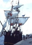Welland Ship Canal - Port Colborne - Replica of Christopher Colombus' Santa Maria