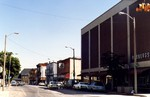 Rosbergs Department Store Ltd. Looking down Erie Avenue Towards Bridge Street Train Station