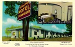 Hollywood Motel Overlooking the Falls by Rainbow Bridge - G. Chanady, Manager