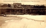 Great ice jam below Niagara Falls, April 1909 Ontario Power Co. Power House shut in