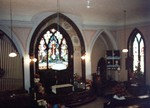 Holy Trinity Anglican Church Portage Road Chippawa, interior view