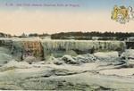 Jack Frost silences American Falls of Niagara