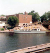 Ship Lady Muskoka used for scenic cruises around the lakes in the Muskoka Region