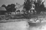 I. H. Allen's Lumber Yard at Black Creek in Stevensville