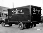 Rosbergs Department Store Delivery Truck