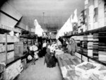 Interior View of George Ellis's Dry Goods Store - Erie Avenue