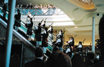 Niagara Fallsview Casino Resort Gala Opening - Pipers on the Escalator in the Casino