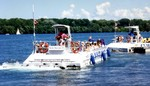 Whirlpool Jet Boat Tours Melville St Niagara-on-the-Lake on the Niagara River