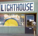 Store front window Niagara Falls New York