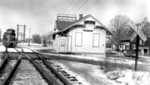Chippawa Village - train passing through