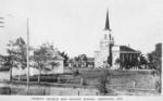 Trinity Church and Sunday School Chippawa Ont. [Ontario]