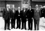 Lewiston-Queenston Bridge - official opening ceremonies members of the Commission