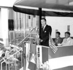 Lewiston-Queenston Bridge - official opening ceremonies and speeches
