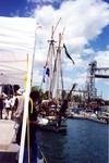 Welland Ship Canal - Tall ships at Canal Days - Port Colborne