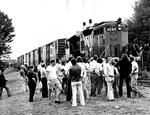 Crowd Watching C.N. Train