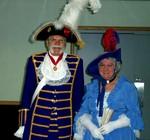 City of Niagara Falls town crier Derek & Beryl Tidd at Canada Day celebrations 2003