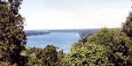 View from Queenston Heights - Lower Niagara River toward Niagara-on-the-Lake