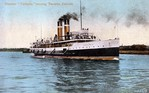 Steamer Turbinia Nearing Toronto Canada