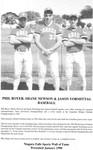 Niagara Falls Sports Wall of Fame - Phil Boyer, Shane Newson & Jason Vormittag Baseball