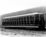 Street car of the type used by International Railway Company, Great Gorge Route