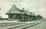 G.T.R. [Grand Trunk Railroad] Station, Bridgeburg, Ontario