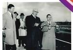 Lewiston-Queenston Bridge - opening ceremonies ribbon cutting